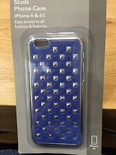 Signalex Studs iPhone Cover / Case for iPhone 6 & 6S, Blue Stud Design