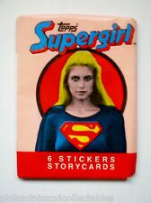 Topps ' Supergirl  '  Sealed Unopened Wax Packet 1984