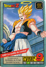 CARTE DRAGON BALL LE GRAND COMBAT N-¦ 630 GOGETA POWER LEVEL 9