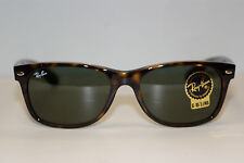 RAYBAN  SUNGLASSES  NEW WAYFARER  2132  TORTOISE 902  52MM EYE AUTHENTIC NEW