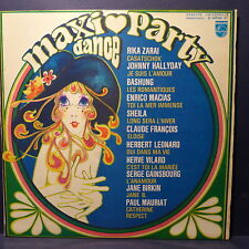 Compil Maxi dance party BASHUNG / HALLYDAY / CLAUDE FRANCOIS / GAINSBOURG BIRKIN