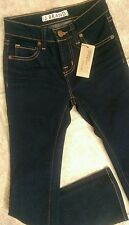 NWT J BRAND Jeans Bootcut dark INK sz 8 GIRLS new