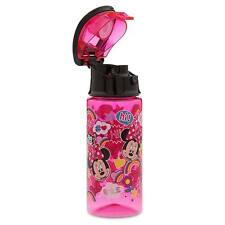 Disney Store Minnie Mouse Clubhouse 12oz Kids Water Bottle Drink Cup NEW