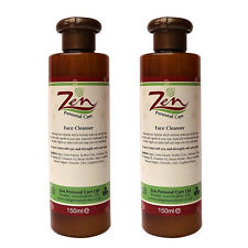 FACE CLEANSER Organic 150ml  Pack of 2   GLOWING SKIN TONE by ZEN PERSONAL CARE