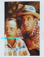 """Don Knotts and Jim Nabors signed photo """"The Andy Griffith Show"""" TV excellent !"""