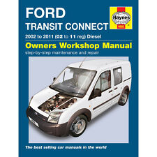Ford Transit Connect 1.8 Diesel 2002-11 (02 to 11 Reg) Haynes Manual