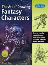 Art of Drawing Fantasy Characters (Collector's Series) - Good - Glaser, Jacob -