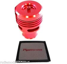 Ford Focus ST Red Collins Dump Valve Kit AND Pipercross Panel Air Filter