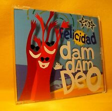 MAXI Single CD FELICIDAD Dam Dam Deo 4TR 1997 latin
