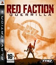 Red FACTION GUERRILLA JEU PS3 Neuf Scellé UK PAL rapide