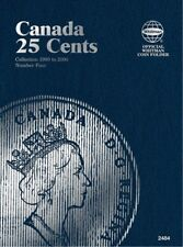 Canadian 25 Cents No. 4 1990-2000, Whitman Coin Folder/Album