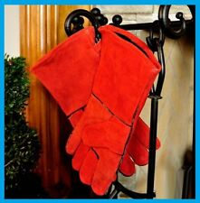 MINUTEMAN INTERNATIONAL Fireplace, Stove Hearth Gloves Pair #A-12 FREE USA SHIP!
