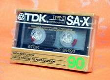 TDK SA-X90 Japan 1987 High Bias Kassette  Neu OVP