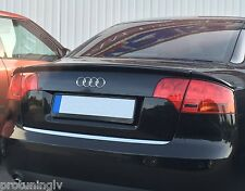 Audi A4 B7 05-08 Saloon Sedan Spoiler RS4 Look rear RS S Trunk Lip ABT S4 heck