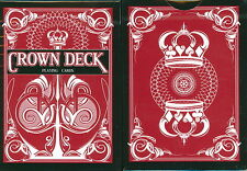 CROWN RED DECK OF PLAYING CARDS USPCC BICYCLE LIMITED MAGIC TRICKS COLLECTOR