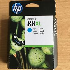 GENUINE AUTHENTIC HP HEWLETT PACKARD INK CARTRIDGE HP 88XL CYAN C9391AE 10/11