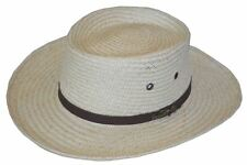 Scala Gambler Shaped Palm Fiber Hat-l/xl