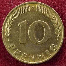 Alemania 10 Pfennig 1950 F (B0402)