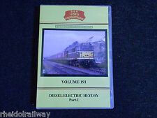 Metrovick, Dunstable Branch, Diesel Electric Heyday Part 1, B & R Volume 191 DVD