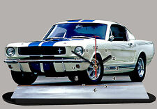 FORD MUSTANG SHELBY-04, MINIATUR MODELLAUTOS in der Uhr
