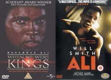 When We Were Kings & Ali DVD Muhammad Boxing Rumble in the Jungle Mohamed