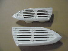 BAYLINER 185/195/205/225BR WHITE LOUVERED VENT SET