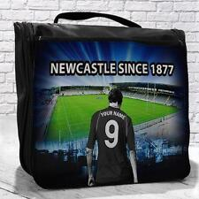 Personalised Newcastle Falcons RU Rugby Toiletry Travel Hanging Wash Bag Gift