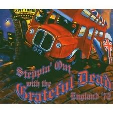 GRATEFUL DEAD - STEPPIN' OUT WITH THE GRATEF...4 CD NEU