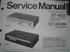 TECHNICS ST-9031 ST-9031K Stereo Tuner Service manual wiring parts diagram
