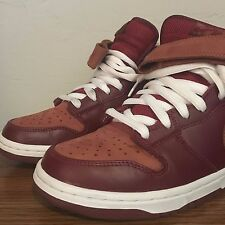"""Nike Dunk Mid Pro SB – """"Embarco"""" Team Red/ Pony (314383-621) Size: 9.5 *Rare"""