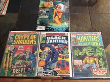 OLD COMIC BOOK LOT -MARVEL -