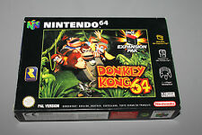 Nintendo 64 - Donkey Kong 64 - N64 - Brand New - FACTORY SEALED