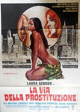 manifesto movie poster 2F La via della prostituzione Joe D'Amato gemser erotico