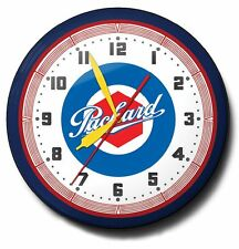Classic Packard Automobile Neon Clock Hand Made In The USA 20 Inch Diameter