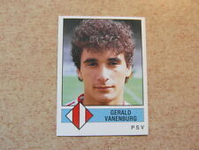 vintage collector PANINI FOOTBALL VOETBAL 1987 HOLLAND : GERALD VANENBURG PSV