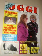 OGGI=1988/12=INDIETRO TUTTA=ORNELLA MUTI=CARLOS MONZON=GIULIANA DE SIO=DE SICA=