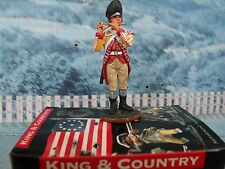 King & Country American war of Independence 10t LINCOLNSHIRE REGIMENT FIFER BR19