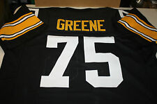 PITTSBURGH STEELERS #75 JOE GREENE CUSTOM JERSEY HOF SIZE XXL