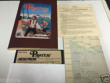 Pirates! Pirates Micro Prose Game Apple ii II Plus iie old Vintage