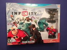 Disney Infinity Starter Pack for Wii U NEW
