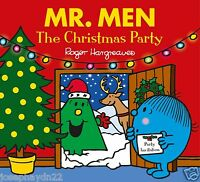 NEW  - MR MEN the CHRISTMAS PARTY ( BUY 5 GET 1 FREE book ) Mr Men Little Miss
