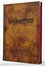The Art of Uncharted Trilogy Limited Edition Hardcover Book - From PS3 Game