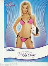 2010 Bench Warmer Signature Series #98 Nikki Gray near mint