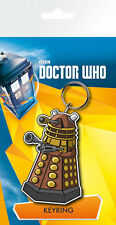 DOCTOR WHO Dalek Illustration Key Ring NEW CARDED BAGGED Official Merchandise