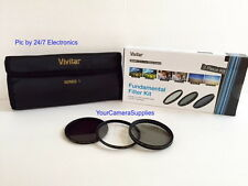 VIVITAR Filter Kit 72mm ND8 UV CPL To CANON VL1 XL2 XL2E XL1E 18-135 mm 28-200mm