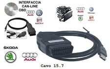 CAVO Software Diagnosi VAG 15.7 2015/16 OBD2 AUDI VW SEAT SKODA x AUTO