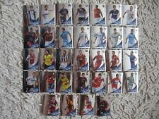 PANINI STICKERS  champions league 2012/13    COMPLETE SET  32  key players
