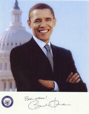 Barack Obama  ++ Autogramm  ++ USA ++ Präsident
