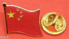 China Chinese Country Flag Lapel Hat Tie Cap Pin Badge Brooch Brand