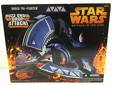 STAR WARS REVENGE OF THE SITH DROID TRI-FIGHTER w/BUZZ DROIDS 2005